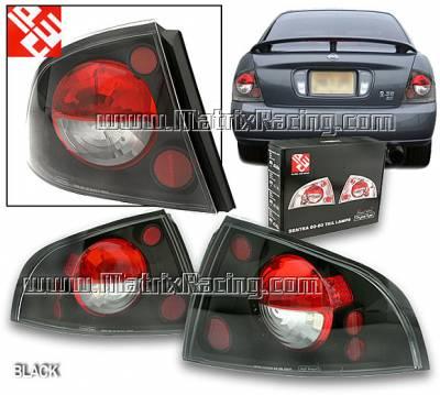 Headlights & Tail Lights - Tail Lights - Custom - Black Altezza Taillights