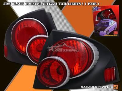Headlights & Tail Lights - Tail Lights - Custom - JDM Black 3D Altezza Taillights