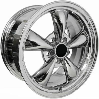 Wheels - Mustang Wheels - AM Custom - Ford Mustang Chrome Bullitt Wheel