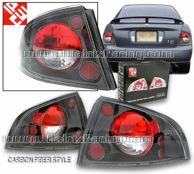Headlights & Tail Lights - Tail Lights - Custom - Carbon Altezza Taillights