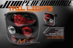 Headlights & Tail Lights - Tail Lights - Custom - Black Altezza Stepside Taillights