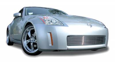 Grilles - Custom Fit Grilles - T-Rex - Nissan 350Z T-Rex Bumper Billet Grille Insert - 13 Bars - 25749
