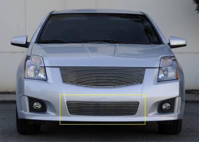 Grilles - Custom Fit Grilles - T-Rex - Nissan Sentra T-Rex Bumper Billet Grille Insert - 25764