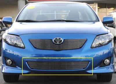 Grilles - Custom Fit Grilles - T-Rex - Toyota Corolla T-Rex Bumper Billet Grille Insert - 25908