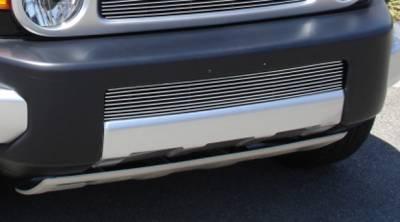 Grilles - Custom Fit Grilles - T-Rex - Toyota FJ Cruiser T-Rex Bumper Billet Grille Insert - 9 Bars - 25932