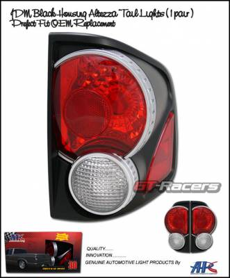 Headlights & Tail Lights - Tail Lights - Custom - 3D Black Taillights