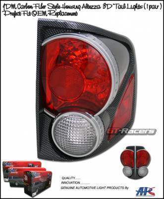 Headlights & Tail Lights - Tail Lights - Custom - 3D Carbon Taillights