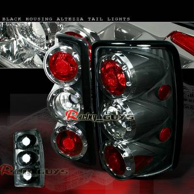 Headlights & Tail Lights - Tail Lights - Custom - Black Clear Euro Altezza Taillights