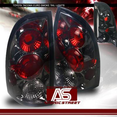 Headlights & Tail Lights - Tail Lights - Custom - Smoke Euro Taillights