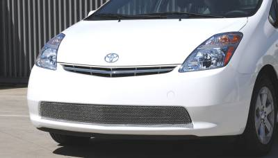 Grilles - Custom Fit Grilles - T-Rex - Toyota Prius T-Rex Sport Series Formed Mesh Grille - Stainless Steel - Triple Chrome Plated - 45927