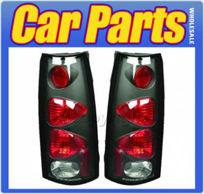 Headlights & Tail Lights - Tail Lights - Custom - Black Clear Altezza Taillights