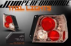 Headlights & Tail Lights - Tail Lights - Custom - JDM Gunmetal Altezza Taillights