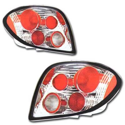 Headlights & Tail Lights - Tail Lights - Custom - Euro Chrome Taillights