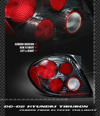 Headlights & Tail Lights - Tail Lights - Custom - Euro Carbon Taillights