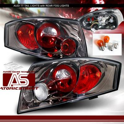Headlights & Tail Lights - Tail Lights - Custom - Gunmetal Taillights