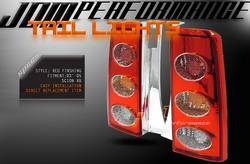 Headlights & Tail Lights - Tail Lights - Custom - JDM Red Taillights