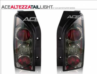 Headlights & Tail Lights - Tail Lights - Custom - Smoke Gunmetal Altezza Taillights