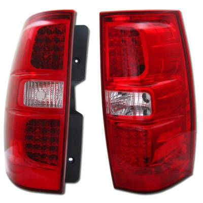 Headlights & Tail Lights - Tail Lights - Custom - Euro Red Taillights