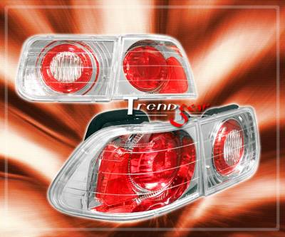 Headlights & Tail Lights - OEM - Custom - JDM Chrome Atezza  Taillights