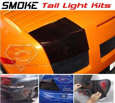 Headlights & Tail Lights - Tail Lights - Custom - Smoked Tail Tint