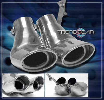Exhaust - Exhaust Tips - Custom - W203 Silver Tips