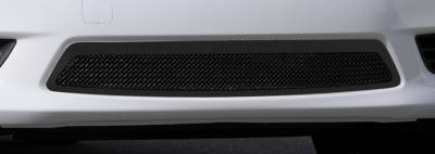 Grilles - Custom Fit Grilles - T-Rex - Nissan Versa T-Rex Upper Class Polished Mesh Bumper Grille - All Black - 52775