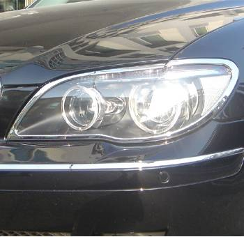 Headlights & Tail Lights - Headlights - Custom - E65 Facelift Headlight Trim