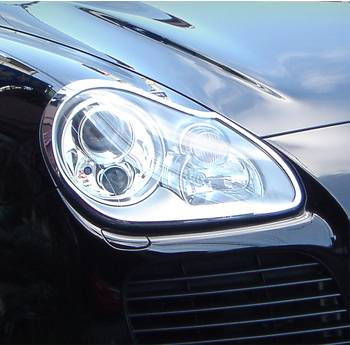 Headlights & Tail Lights - Headlights - Custom - Chrome Head & Tail Lights Trim