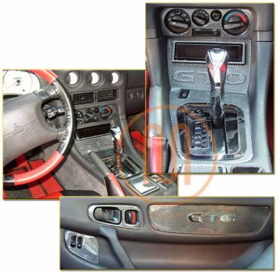 Car Interior - Interior Trim Kits - Custom - Real Carbon Fiber Dash Trim