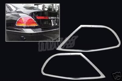 Headlights & Tail Lights - Tail Lights - Custom - E65 polished Tail light Trim