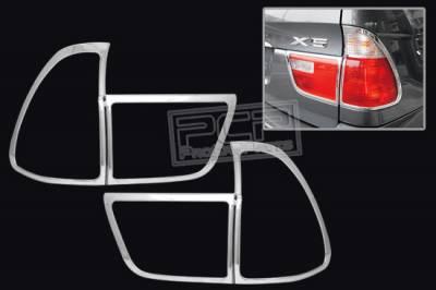 Headlights & Tail Lights - Tail Lights - Custom - CHROME HEADLIGHTS TAIL LIGHTS TRIM