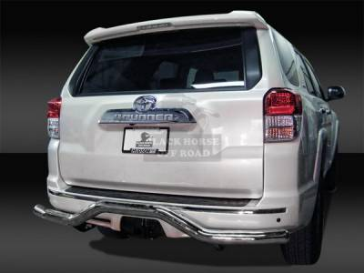 4 Runner - Rear Add On - Black Horse - Toyota 4Runner Black Horse Rear Bumper Guard - Single Tube
