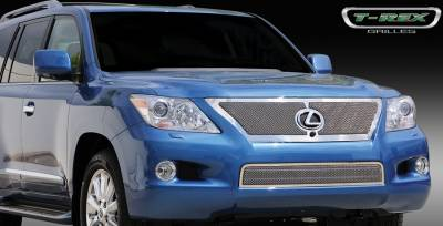 Grilles - Custom Fit Grilles - T-Rex - Lexus LX T-Rex Upper Class Mesh Grille with Formed Mesh Center - 54641