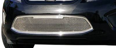 Grilles - Custom Fit Grilles - T-Rex - Ford Fiesta T-Rex Upper Class Polished Stainless Bumper Mesh Grille with Formed Mesh - 1PC - 55588