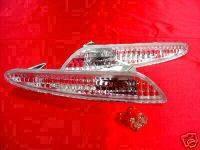Headlights & Tail Lights - Corner Lights - Custom - Clear Bumper Lights W211