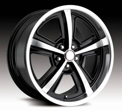 Wheels - Mustang Wheels - Carroll Shelby Wheels - Ford Mustang Carroll Shelby Wheels Black Carroll Shelby CS69 Wheel