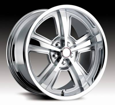 Wheels - Mustang Wheels - Carroll Shelby Wheels - Ford Mustang Carroll Shelby Wheels Chrome Carroll Shelby CS69 Wheel