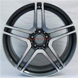 Wheels - Mercedes 4 Wheel Packages - Custom - 19 INCH CL63 Style Wheels