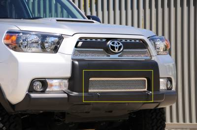Grilles - Custom Fit Grilles - T-Rex - Toyota 4Runner T-Rex Upper Class Polished Stainless Bumper Mesh Grille - 55947