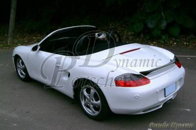 Spoilers - Custom Wing - Custom - Boxster TA Style Carbon Fiber Wing