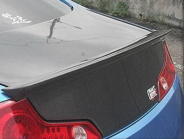 Spoilers - Custom Wing - Chargespeed - Infiniti G35 2DR Chargespeed Rear Wing