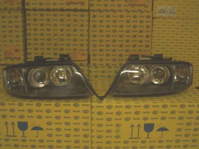 Headlights & Tail Lights - Headlights - Custom - A6 Bi Xenon