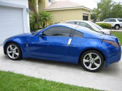 Headlights & Tail Lights - Tail Lights - Custom - Smoked Tail light Overlays Fairlady Z