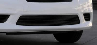 Grilles - Custom Fit Grilles - T-Rex - Nissan Versa T-Rex Bumper Billet Grille Insert - All Black - 25775B