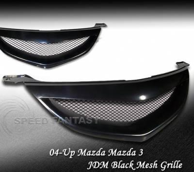 Speed - JDM Black Euro Grille 4dr