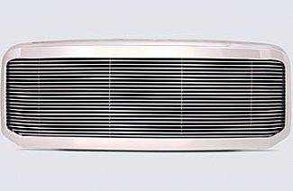Grilles - Custom Fit Grilles - Street Scene - Ford Superduty Street Scene Chrome 1 Opening Shell with 4mm Billet Grille - 950-75579