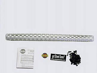 Grilles - Custom Fit Grilles - Street Scene - GMC Sonoma Street Scene Satin Aluminum Grille for Generation 1 Bumper Cover - 950-77119