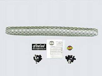 Grilles - Custom Fit Grilles - Street Scene - GMC S15 Street Scene Satin Aluminum Grille for Generation 1 Valance - 950-77203
