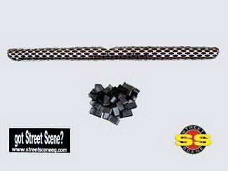 Grilles - Custom Fit Grilles - Street Scene - GMC CK Truck Street Scene Chrome Grille for Generation 1 Valance - 950-78103