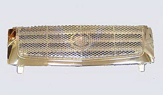 Street Scene - Cadillac Escalade Street Scene Chrome Grille Shell with Chrome Speed Grille - 950-78539